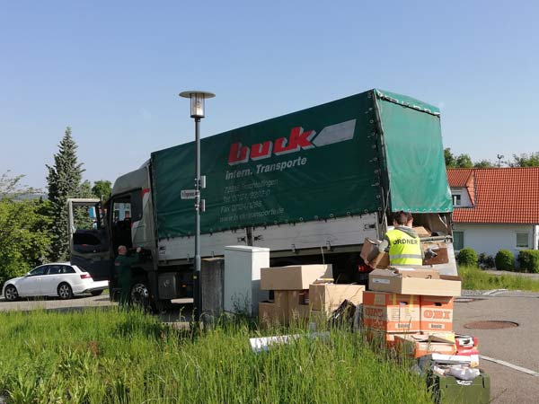 LKW von Buck Transport GmbH
